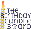 The Birthday Candle Board – Birthday Candle Holder