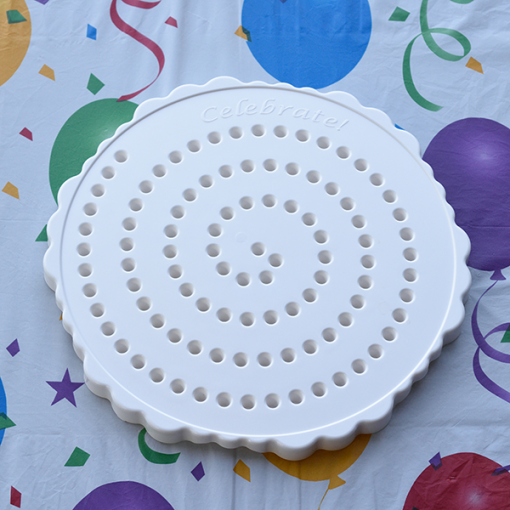 The Birthday Candle Board White