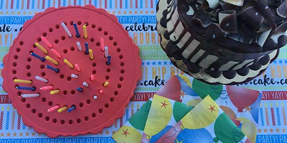 Birthday Board with Cake